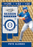 2020 Panini Chronicles Hobby Baseball, Pack