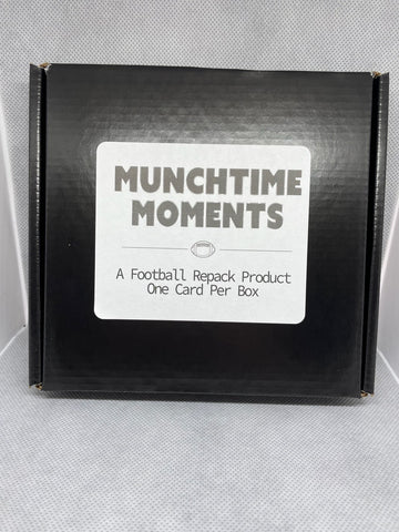 2021 Munchtime Moments Football, Box