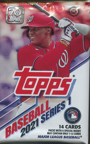 2021 Topps Series 1 Hobby Baseball, Pack