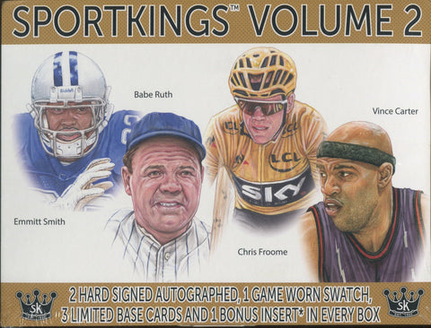 2021 SportKings Sport Kings Volume 2 Multi-Sport Hobby, Box