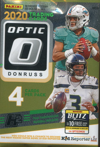 2020 Panini Optic Hybrid Football, Pack