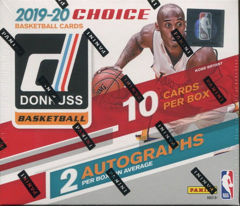 2019-20 Donruss Choice Basketball, Box