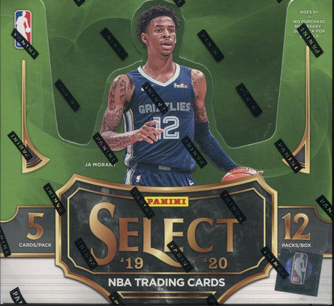 2019-20 Panini Select Basketball, Box