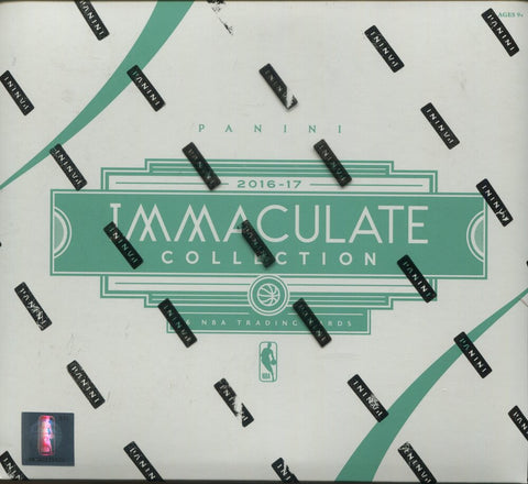 2016-17 Panini Immaculate Collection Hobby Basketball, Box