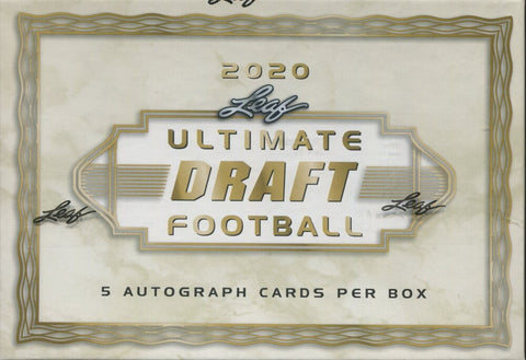 2020 Leaf Ultimate Draft Football, Box