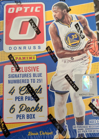 2016-17 Panini Donruss Optic Basketball, Blaster
