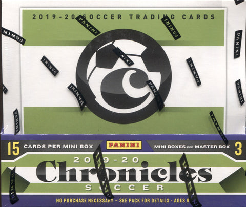 2019-20 Panini Chronicles Hobby Soccer, Box
