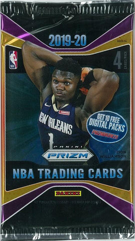 2019-20 Panini Prizm Retail Basketball, Pack
