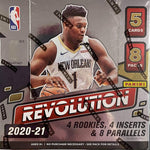 2020-21 Panini Revolution Hobby Basketball, Box
