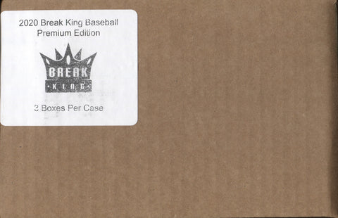 2020 Break King Baseball Premium Edition, Case