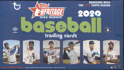 2020 Topps Heritage High Number Hobby Baseball, Box