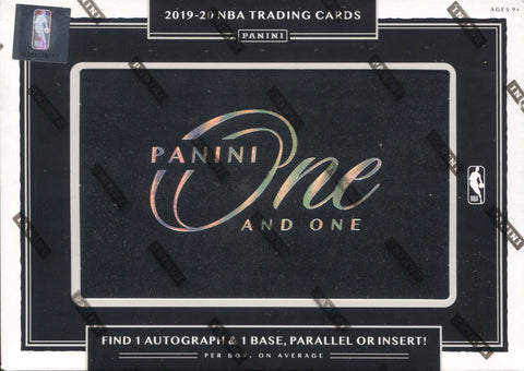 2019-20 Panini One and One Basketball, Box