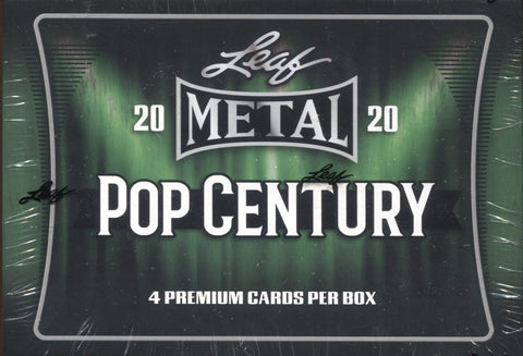 2020 Leaf Metal Pop Century Hobby, Box