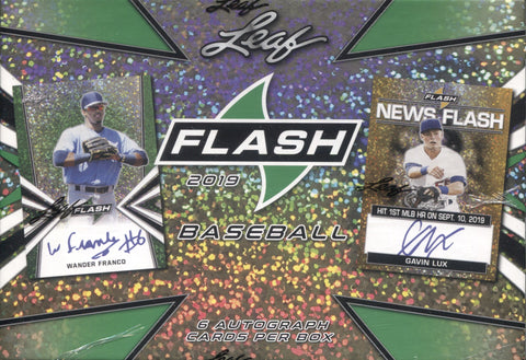 2019 Leaf Flash Hobby Baseball, Box