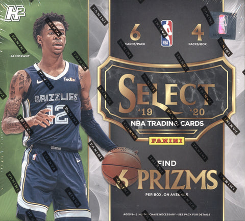 2019-20 Panini Select Hybrid Basketball, Box