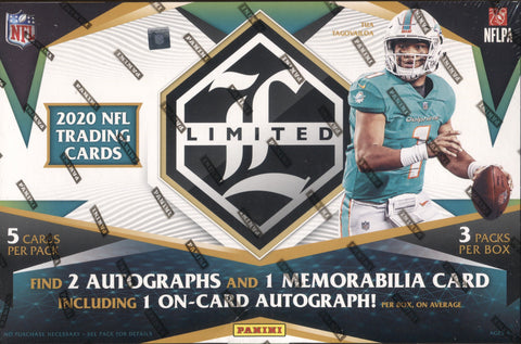 2020 Panini Limited Hobby Football, Box
