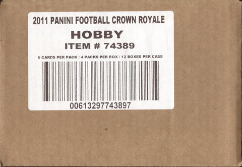 2011 Panini Crown Royale Football, Case