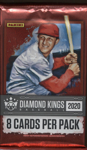 2020 Panini Diamond Kings Hobby Baseball, Pack