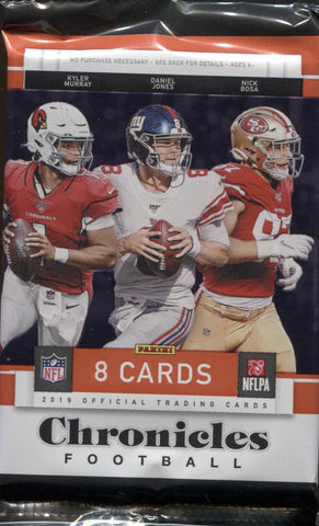2019 Panini Chronicles Hobby Football, Pack