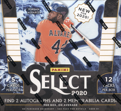 2020 Panini Select Hobby Baseball, Box