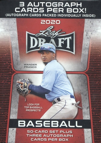 2020 Leaf Draft Baseball, Blaster