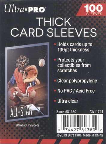 Ultra PRO Thick Card Sleeves