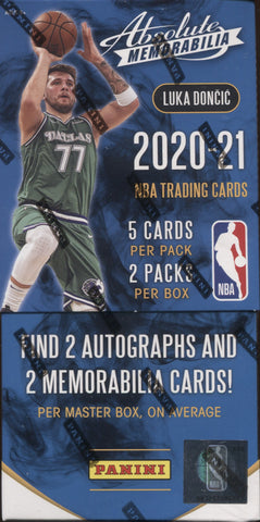 2020-21 Panini Absolute Hobby Basketball, Box
