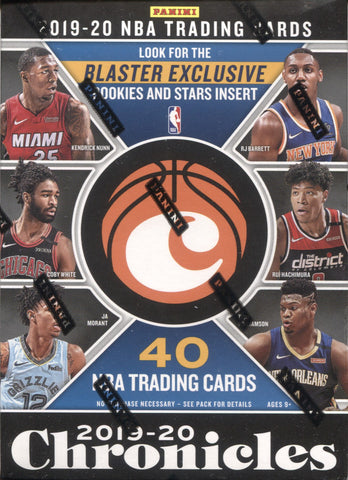2019-20 Panini Chronicles Blaster Basketball, Box