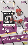 2020 Panini Optic Hobby Baseball, Box