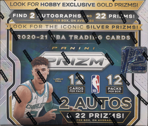 2020-21 Panini Prizm FOTL Basketball, Box