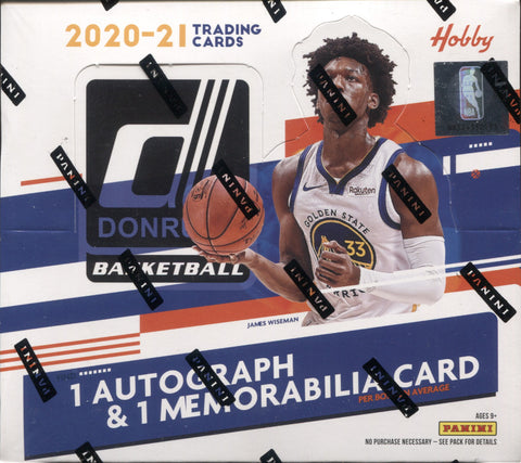 2020-21 Panini Donruss Hobby Basketball, Box