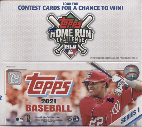 2021 Topps Series 1 Retail Baseball, Box