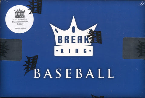 2020 Break King Baseball Premium Edition, Box