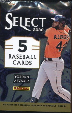 2020 Panini Select Hobby Baseball, Pack