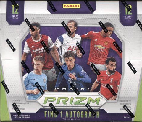 2020-21 Panini Prizm English Premier League Hobby Soccer, Box