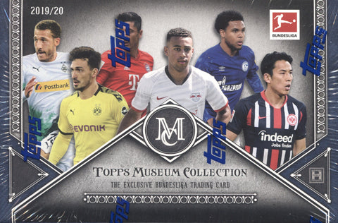 2019-20 Topps Bundesliga Museum Collection Hobby Soccer, Box