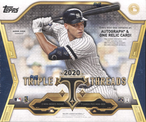 2020 Topps Triple Threads Hobby Baseball, Box