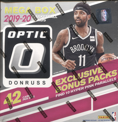 2019-20 Panini Donruss Optic WalMart Mega Basketball, Box