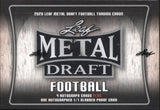 2020 Leaf Metal Draft Jumbo Football, Box
