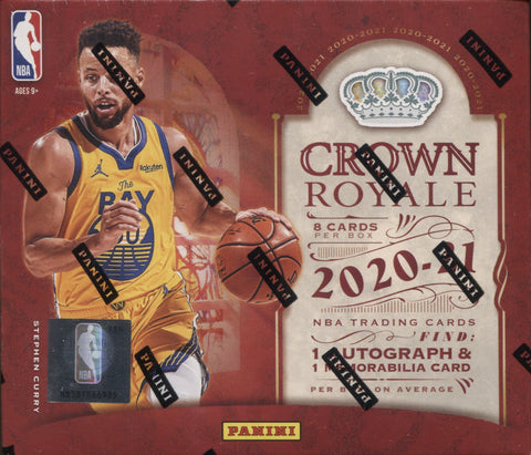 2020-21 Panini Crown Royale Hobby Basketball, Box