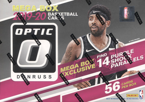2019-20 Panini Donruss Optic Target Mega Basketball, Box