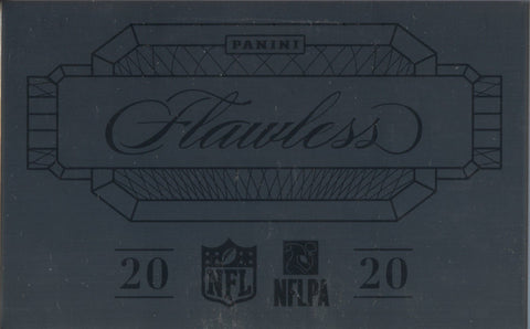 2020 Panini Flawless Hobby Football, Box