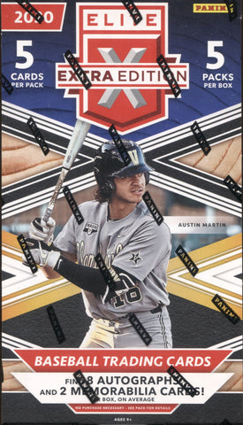 2020 Panini Elite Extra Edition Baseball, Box