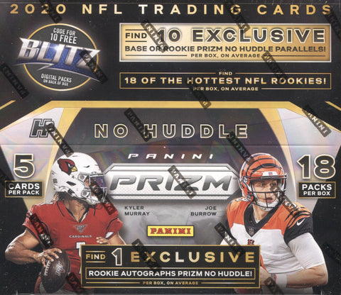 2020 Panini Prizm No Huddle Football, Box