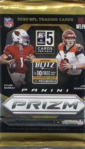 2020 Panini Prizm No Huddle Football, Pack
