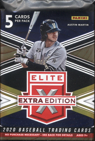 2020 Panini Elite Extra Edition Baseball, Pack