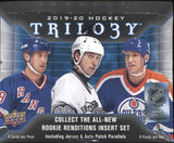 2019-20 Upper Deck Trilogy Hobby Hockey, Box