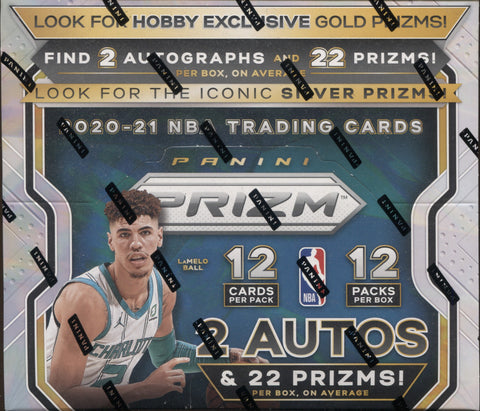 2020-21 Panini Prizm Hobby Basketball, Box