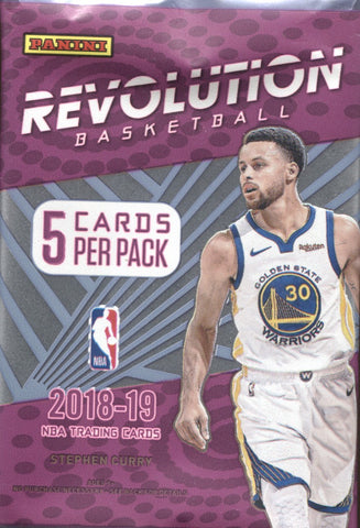 2018-19 Panini Revolution Hobby Basketball, Pack