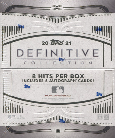 2021 Topps Definitive Baseball, Box
